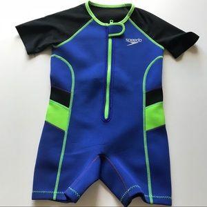 Speedo for boy or girl wet suit 4T